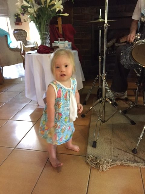 Our little worshipper Lexi