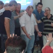 Gideon Malherbe Welcomed in prayer