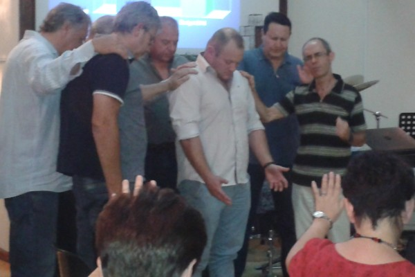 Gideon Malherbe Welcomed in prayer