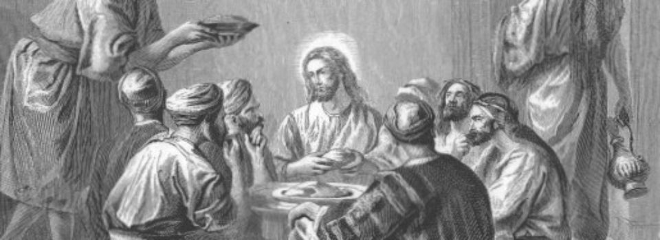 Jesus eats with sinners